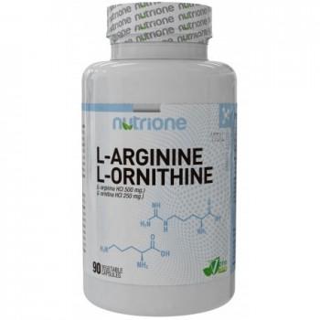 Nutrione Arginina Ornitina 90 cápsulas