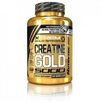 Xtreme Gold Series - Creatine Gold Xtrem 120 caps - 1000mg creatina por cápsula
