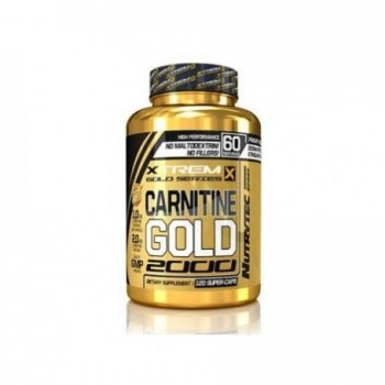 Xtreme Gold Series - Carnitine Gold 2000, 120 caps de 1000mg l-carnitina