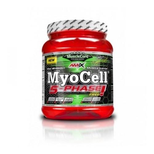Amix MUSCLECORE MYOCELL 5 Phase 500gr