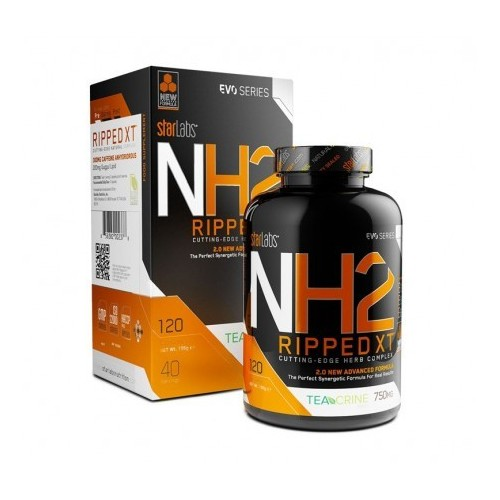 StarLabs Nutrition - NH2 RIPPED, 120 caps. - quemador de grasa