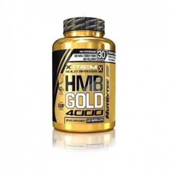 Xtreme Gold Series - HMB Gold 4000 Xtrem, 120 capsulas