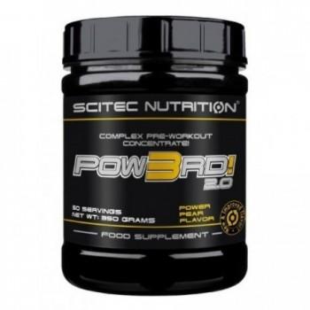 Scitec Pow3rd! 2.0 350 gramos