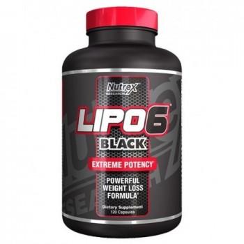Nutrex Lipo 6 Black 120...