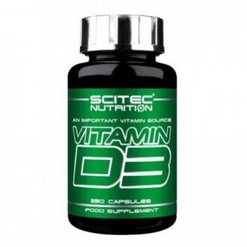 Scitec Vitamin D3 250 cápsulas
