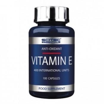 Scitec Vitamin E 100 cápsulas