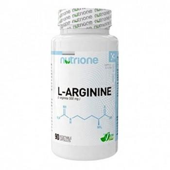 Nutrione L-Arginine 500 mg. 90 cápsulas
