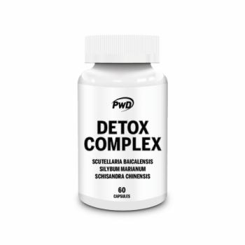 PWD Detox Complex 60 cápsulas