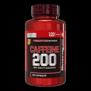 Nutrytec Caffeine 200 mg. (Cafeína) 100 cápsulas
