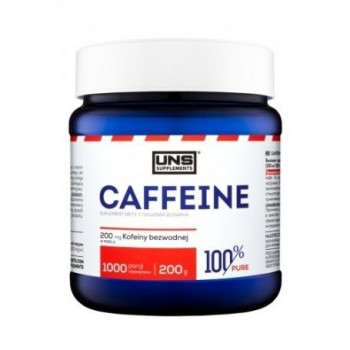 UNS Caffeine (cafeína) 200...