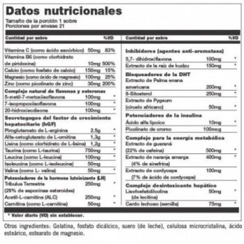 N.O. Rush - 510gr fórmula pre-entreno, oxido nitrico, creatina, bcaas