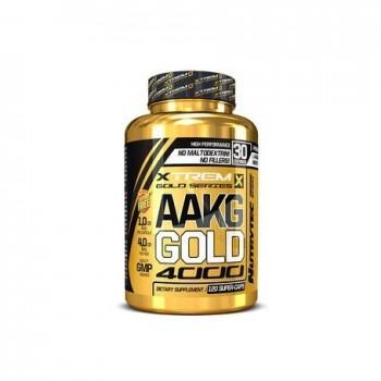 AAKG Gold 4000 120caps de 1000mg arginina alfa-cetoglutarato