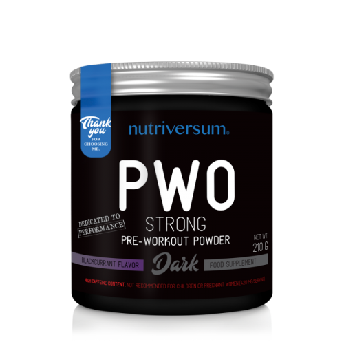 Nutriversum PWO Pre-workout 210 gramos