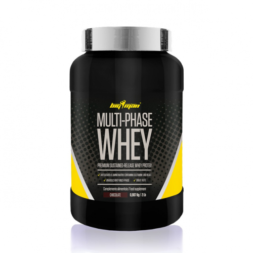 Bigman Multiphase Whey Protein 900 gramos