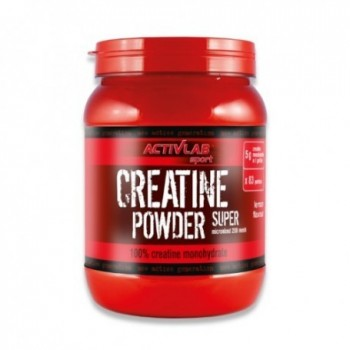 Creatine Powder 500gr - Monohidrato de creatina