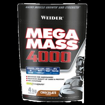 Weider Mega Mass 4000 - 4000 gr. Nueva Formula