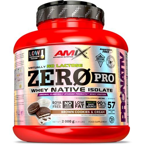 Amix Zero Pro Whey Native 2000 gramos