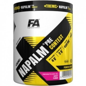 FA Engineered Nutrition - Xtreme Napalm Pre Contest - 500 gr.