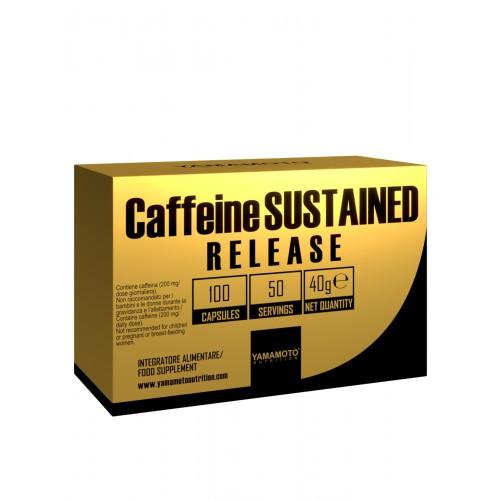 Yamamoto Caffeine Sustained Release 100 cápsulas