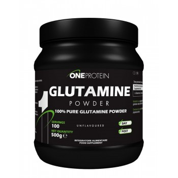 One Protein Glutamine 500...