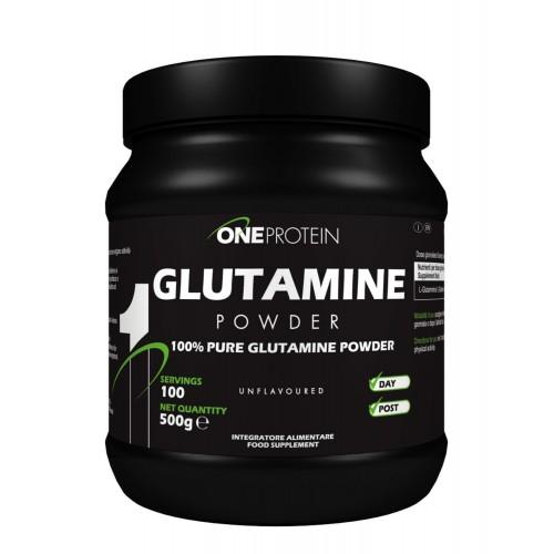 One Protein Glutamina 500 gramos