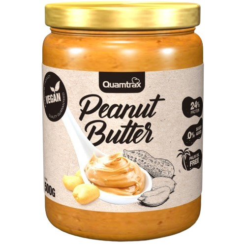 Quamtrax Peanut Butter 500 gramos