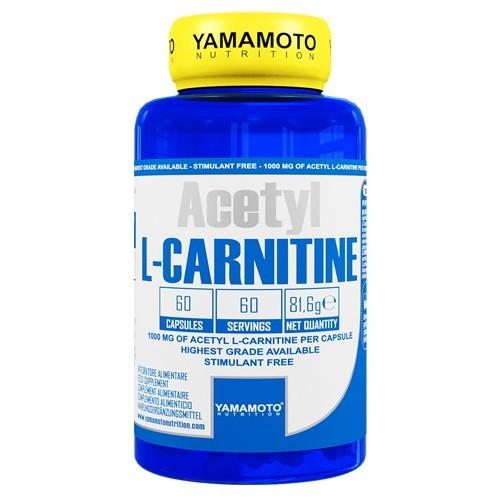 Yamamoto Acetyl L-Carnitine 60 cápsulas