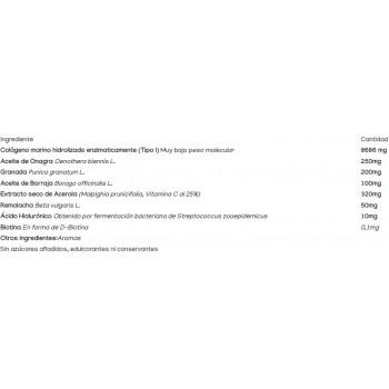 Powerbar PowerGel Fruit - 24 Geles Energéticos con 50 mg de cafeina: