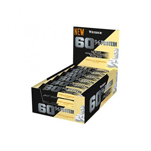 Weider - 60% Protein Bar - 24 x 45 gr.