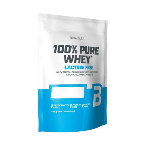 BiotechUSA 100% Pure Whey Lactose Free 454 gramos