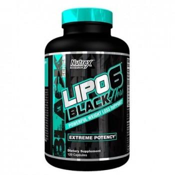 Nutrex Lipo 6 Black Hers...