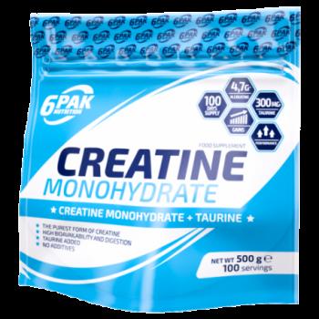 6Pak Creatine Monohydrate 500 gramos