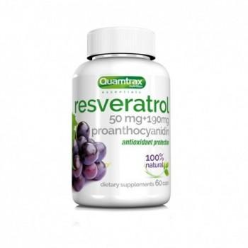 Quamtrax Resveratrol 60 cápsulas