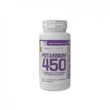 Nutrytec Potassium 450 (Potasio) 60 cápsulas