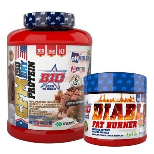 Pack BIG: CFM Isodry protein glambia + quemagrasa con ph regulador