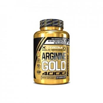 Xtreme Gold Series - Arginine Gold 4000 - 120 caps de 1000mg arginina hcl