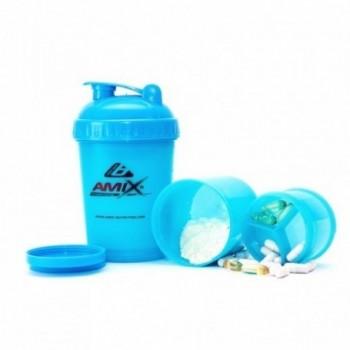 Amix batidora / shaker especial de color con pastillero - 600ml