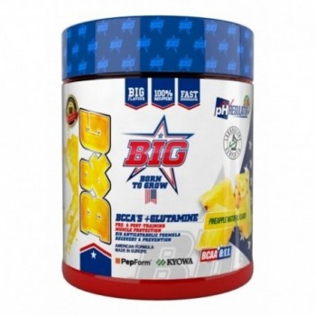 BIG - B&G 400gr. - BCAA 8:4:4 + Glutamina Kiowa con sabor a piña